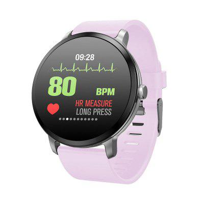 V6 V11 Health 1.3-inch OLED Touchscreen Heart Rate Tracking Smartwatch Image