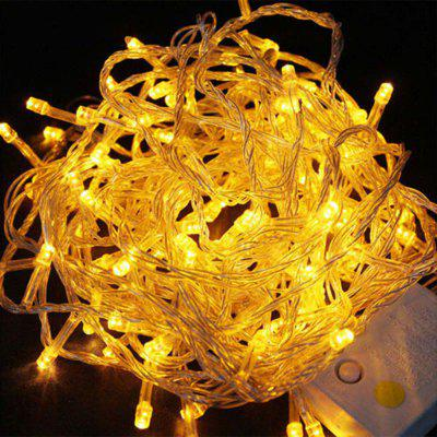 UK Plug LED Linterna Gypsophila Firefly Light String 10M 100 Light