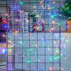 UK Plug 220V LED Linternas Gypsophila Firefly Stars Light Strings 20M 200 Luces - MULTICOLOR