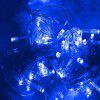 UK Plug 220V LED Lantern Gypsophila Firefly Lights Tree Lights 100M - BLUE