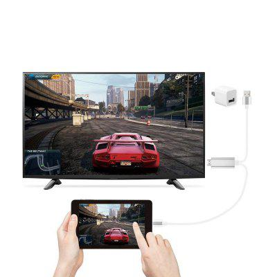 Zum HDMI-Kabeladapter 1080P HDTV-Digital-AV-Adapterkabel für iPhone