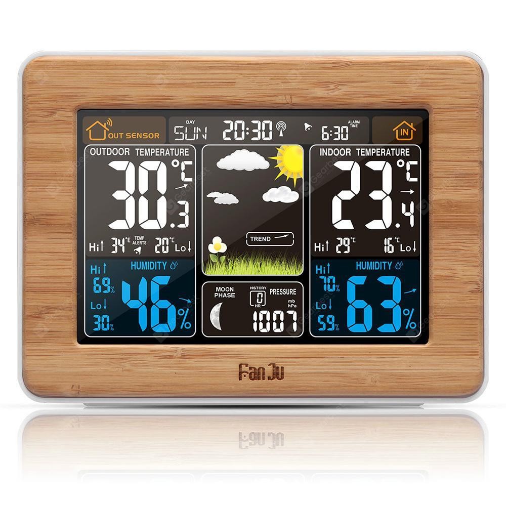 FanJu FJ3365 Weather Station Color Forec