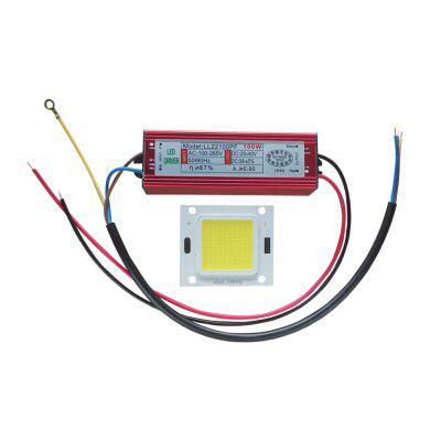 100W High Power LED COB Chip With LED Driver Power Supply for Flood Light