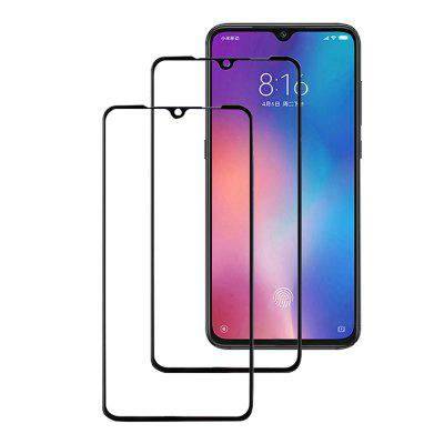 3D 0.26mm Full Cover Tempered Glass Screen Protector for Xiaomi Mi 9 2PCS