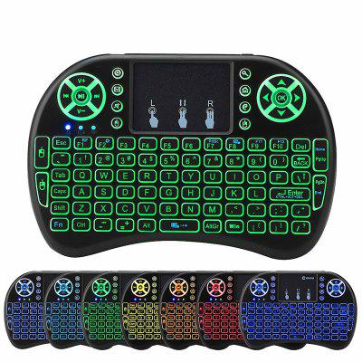 Mini Wireless 2.4G Back Light Touchpad Keyboard