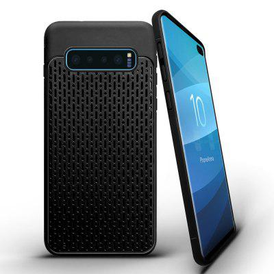 Thousands of Plaid Solid Color Shatter-Resistant Shell for Samsung S10 Plus