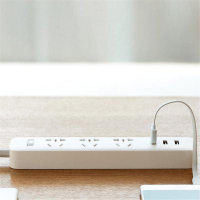 Para XiaoMi Power Strip Socket Porta USB Fast Charging Power Converter Adapter
