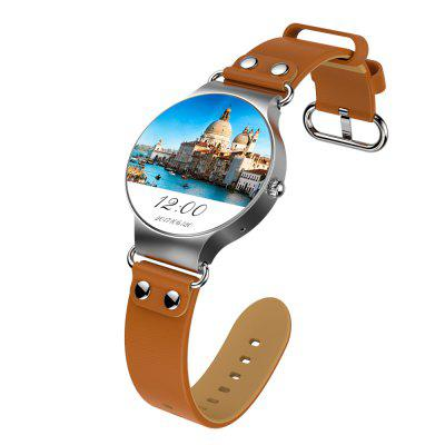 V6 KW98  for Android 5.1 3G Network WIFI GPS MTK6580 Sport Smart Watch