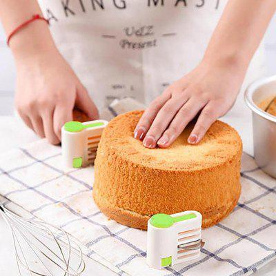 5 Layers DIY Cake Bread Cutter Leveler Slicer Set Cutting Fixator Tools