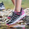 Women Mesh Breathable Lightweight Outdoor Sports Hiking Shoes - ROSE RED