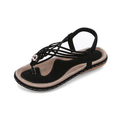 Flat Bottom Fashion Pin Female Sandals A88