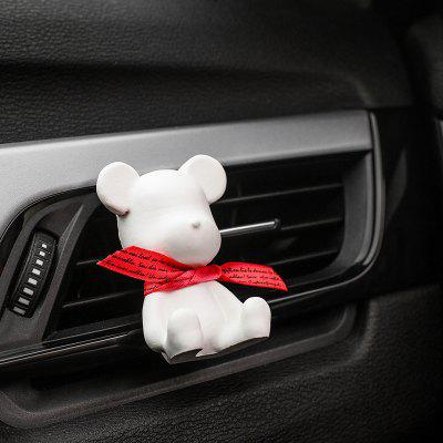 Car Bear Air Conditioning Outlet Gypsum Aromatherapy Clip Car
