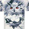 Men Women 3D Print Short Sleeve Casual Slim Fit T-Shirts Graphic Tee Shirt 194 - MULTI-A