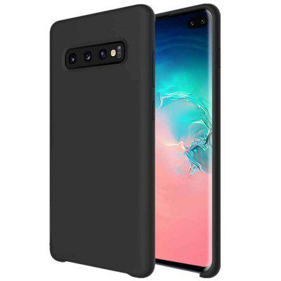 Custodia in silicone liquido per Samsung Galaxy S10 Plus