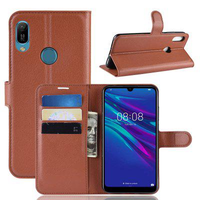 Card Protection Leather Cover Case for HUAWEI Y6 2019