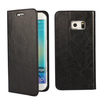 Phone Case Protector Leather Cover For SAMSUNG S6 Edge