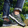 Men Hollow Breathable Outdoor Leisure Sports Hiking Creek Shoes - GRAY