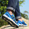 Men Hollow Breathable Outdoor Leisure Sports Hiking Creek Shoes - SKY BLUE