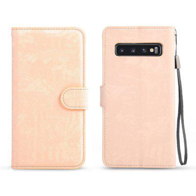 Luxury Camouflage Leather Case for Samsung Galaxy S10 Plus Phone Accessories