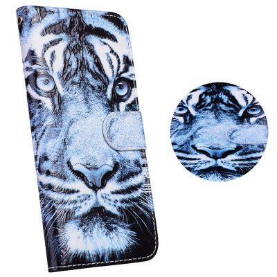 3D Relief Tiger Leather  Wallet Flip Phone Bag Case for SAMSUNG S7 Edge