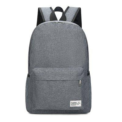 Backpack High School Bag Large Capacity Men'S and Women'S Travel Backpack