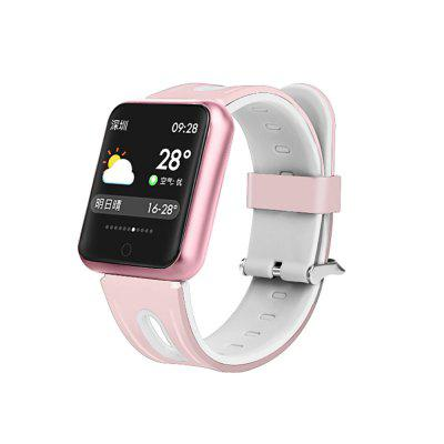 P68 color screen touch smart watch bracelet Image
