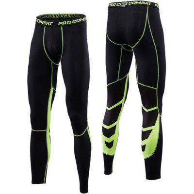Men GYM Sports Tights Compression Trousers Sportswear Running Pants