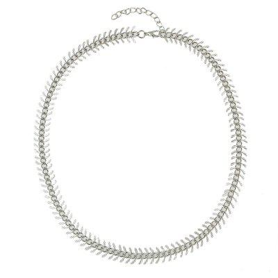 Fashion Silver Metal Snake Chain Necklace