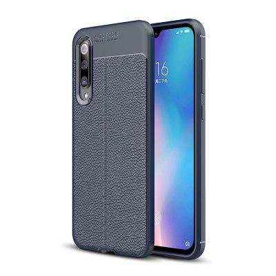Luxe Lichee Grain Anti-Drop Soft TPU Case voor Xiaomi Mi 9 SE