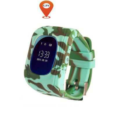 V6 Q50 OLED Child  GPS Tracker SOS  Monitoring Positioning Phone Smart Watch