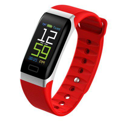 V6 R7 Color Screen Heart Rate Blood Pressure Sleep Detection Sports Smart Watch