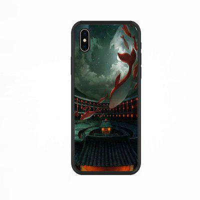 The Big Red Fish -Nano Scratch Resistant Mobile Phone Case for iphone X