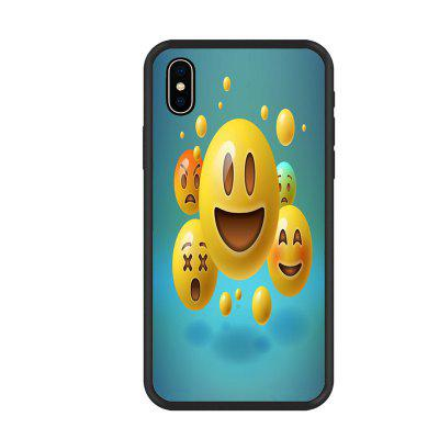 Smiling Face  Organic Nano Scratch Resistant Mobile Phone Case