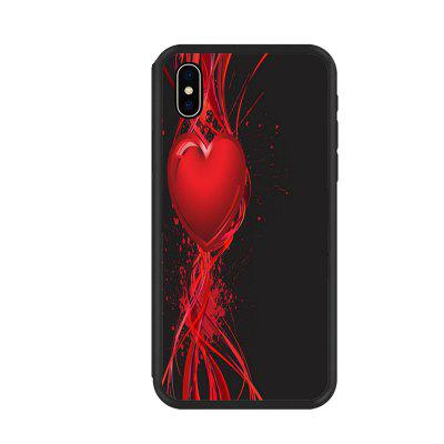 Red and Black Organic Nano Scratch Resistant Phone Case
