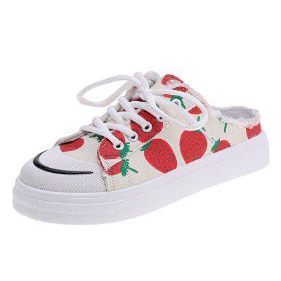 Fashion Department Small Strawberry Women Singles Shoes 3033