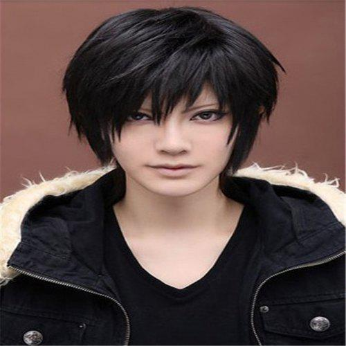 Cosplay Black Male Hairstyle Wig
