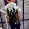 Music Art Men Fashion 3D Print T-shirt Short Sleeve - MULTI
