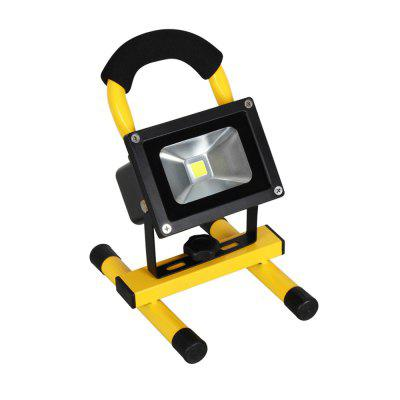 LED Spotlights Work Lights Outdoor Camping Light with Built-In Rechargeable Battery