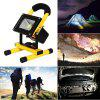 LED Spotlights Work Lights Outdoor Camping Light with Built-In Rechargeable Battery - GOLDENROD