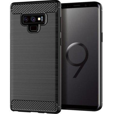 Black Drawing Carbon Fiber Phone Case for Samsung Galaxy Note 9