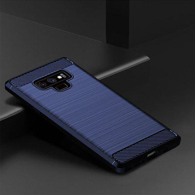 Blue Drawing Carbon Fiber Phone Case for Samsung Galaxy Note 9