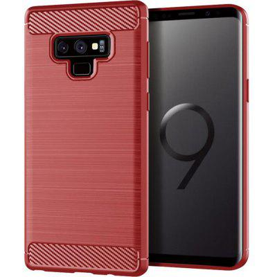 Red Drawing Carbon Fiber Phone Case for Samsung Galaxy Note 9