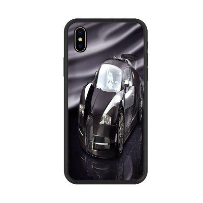 Cool Car Series Organic Nano Scratch Resistant Mobile Phone Case for iPhone X