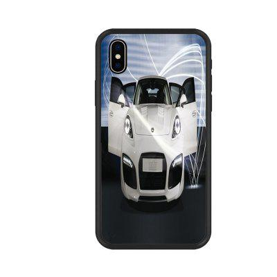 Cool Car Series 3 Organic Nano Scratch Resistant Mobile Phone Case for iPhone X