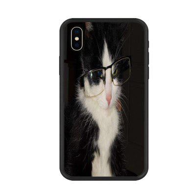 Cute Kitty 6 Organic Nano Scratch Resistant Mobile Phone Case for iPhone X