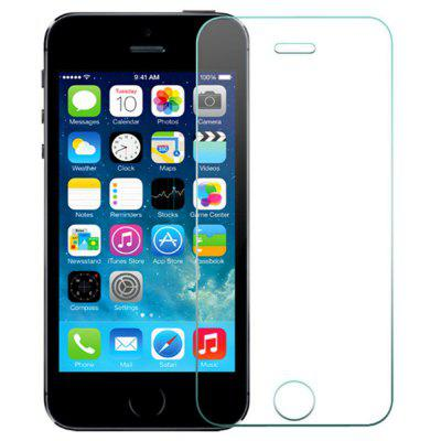 5-delen HD gehard glas Screen Protector Film voor iPhone 5S
