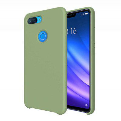 Package Liquid Silicone High Quality Mobile Phone Case for Xiaomi Mi 8 Lite