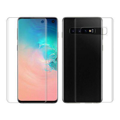 Protective Front + Back Screen Protectors for Samsung Galaxy S10