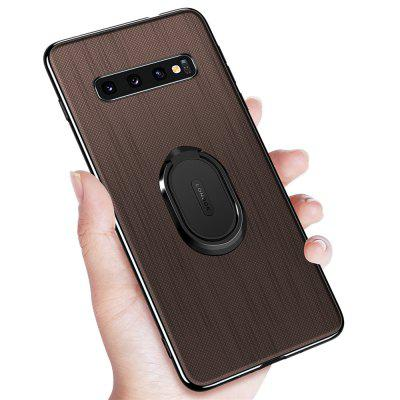 Ring Buckle Protective Magnetic Case for Samsung Galaxy S10