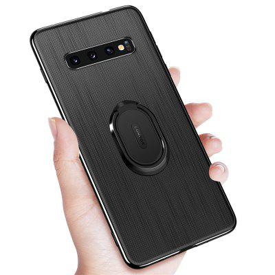 Ring Buckle Protective Magnetic Case for Samsung Galaxy S10 Plus